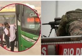 Loja lucra com camisas estampadas com sniper que matou sequestrador da Ponte Rio-Niterói