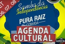 AGENDA CULTURAL: grandes atrações invadem o fim de semana da capital paraibana