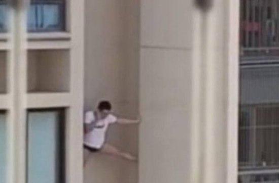 Homem de cueca cai ao fugir da casa de amante descendo pelas paredes de prédio