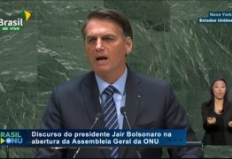 Bolsonaro: 'Foi um discurso bastante objetivo e contundente, não foi agressivo'