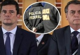 Mônica Bergamo revela: Cúpula da PF cobra demissão de Moro antes que ele seja mais humilhado e vários delegados peçam para sair