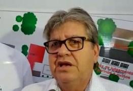 'Meu projeto é coletivo, não dou continuidade a projetos pessoais', João renega acusações de velha política feitas ao seu governo – VEJA VÍDEO E ÁUDIO