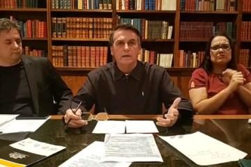 BOLSONARO POSTOS GASOLINA - 'VAMOS PRA CIMA DELES': Bolsonaro promete investigar e punir aumento abusivo em postos de combustível