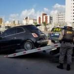 Capturar0 4 - PRF e PM realizam ação conjunta e recuperam três veículos roubados - VEJA VÍDEO