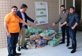 Creci-PB faz doação de meia tonelada de alimentos ao Hospital Napoleão Laureano
