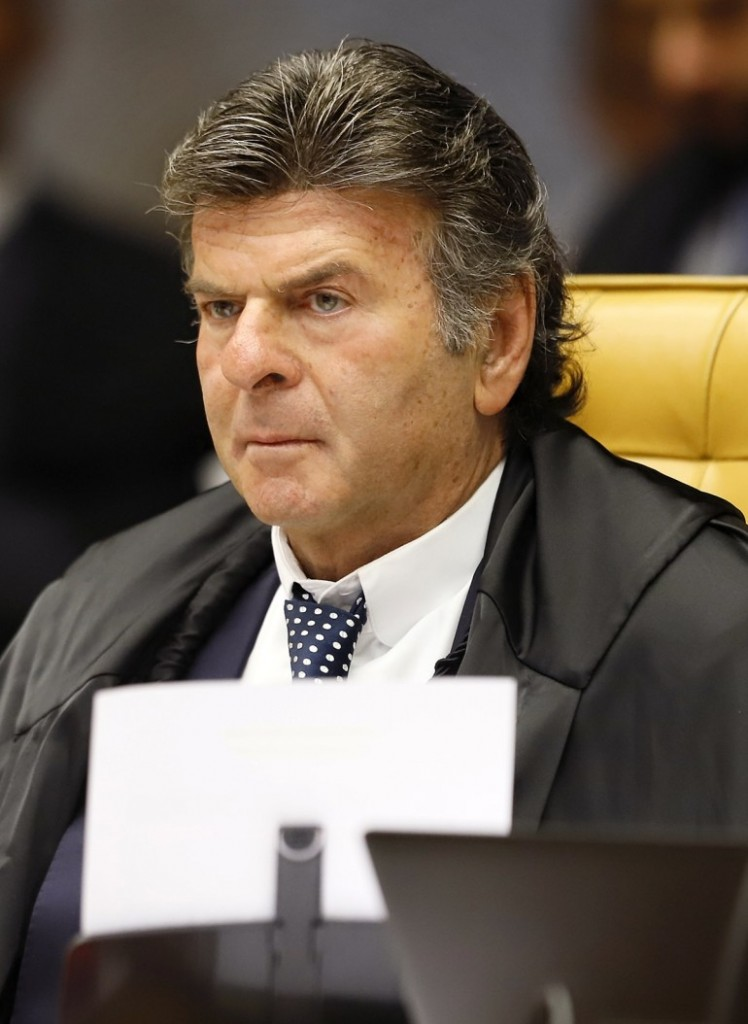 Luiz Fux 2 - STF retira nome da Paraíba do Cadastro de Inadimplentes do governo federal