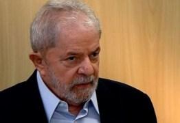 """""""Só saio da prisão com 100% de inocência"""", diz o ex-presidente Lula"""