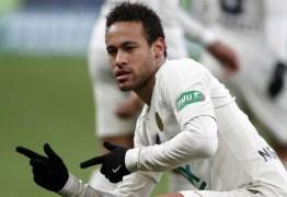 Neymar diz que amor da torcida do PSG por ele 'está voltando'