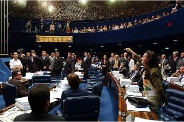 Sessão do Senado sobre a reforma da Previdência - PREVIDÊNCIA: Senado aprova texto-base, mas adia conclusão da votação para esta quarta