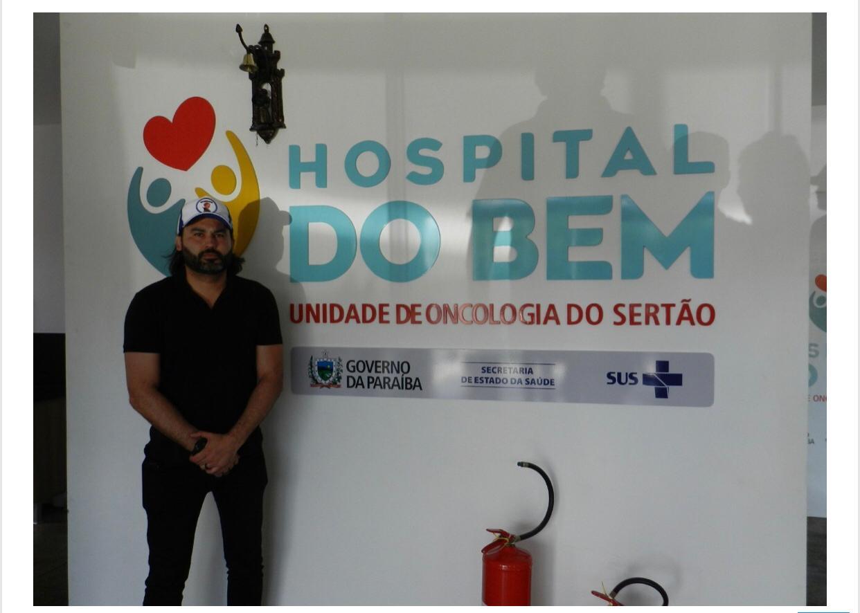 WhatsApp Image 2019 09 02 at 16.31.12 1 - Parente de Bolsonaro, 'Léo Índio' visita Paraíba e discute indicação de cargos federais no estado