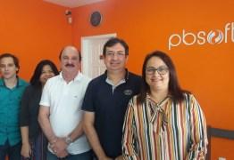 Durval Ferreira, presidente do Conselho Administrativo do Extremotec faz visita de cortesia à PB Soft, empresa filiada ao Polo