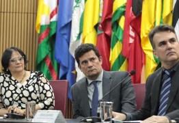 Sérgio Moro, Damares Alves e paraibano Sérgio Queiroz assinam acordo para combater exploração sexual e trabalho escravo