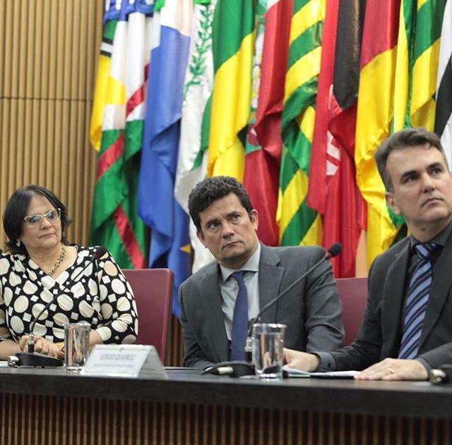 WhatsApp Image 2019 09 11 at 16.32.23 - Sérgio Moro, Damares Alves e paraibano Sérgio Queiroz assinam acordo para combater exploração sexual e trabalho escravo