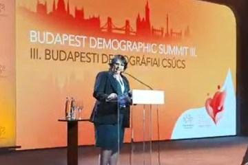 a ministra damares alves na cupula da demografia em budapeste 1569009956745 v2 450x450 1 - Com Damares, 'Cúpula da Demografia' ataca ONU, feminismo e homossexuais