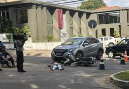 Esposa de Hervázio Bezerra se envolve em acidente em JP