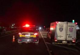 Homem morre após ser atropelado e ter a cabeça esmagada na BR-230, em Santa Rita