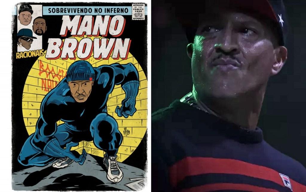 brown mano 1024x642 - 'Perifa Geek': rappers brasileiros viram super-heróis em quadrinhos