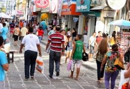 Comércio da Paraíba mantém alta de vendas pelo terceiro mês consecutivo