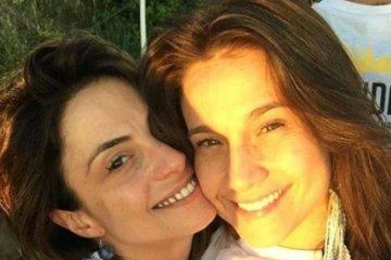 fernanda gentil - Beijo exagerado de Fernanda Gentil em namorada causa incômodo em evento