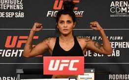 Após assumir luta de última hora, brasileira não bate o peso no UFC