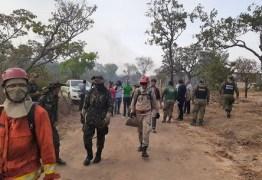 Incêndio de grandes proporções atinge área de mata no Pará