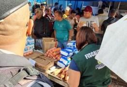 Fiscalização apreende mais de seis toneladas de produtos vencidos em feira de Campina Grande