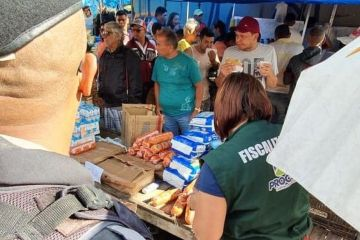 operacao feira prata1 - Fiscalização apreende mais de seis toneladas de produtos vencidos em feira de Campina Grande