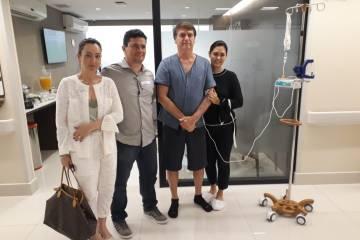 sérgio moro bolsonaro hospital - 'Homem Forte': Após visitar Bolsonaro em hospital Sérgio Moro divulga registro do encontro