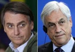 Presidente do Chile condena falas de Bolsonaro sobre pai de Bachelet