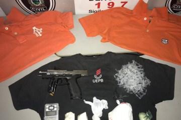 uepb 2 - Estudante suspeito de participar de assalto em tiroteio na UEPB é preso