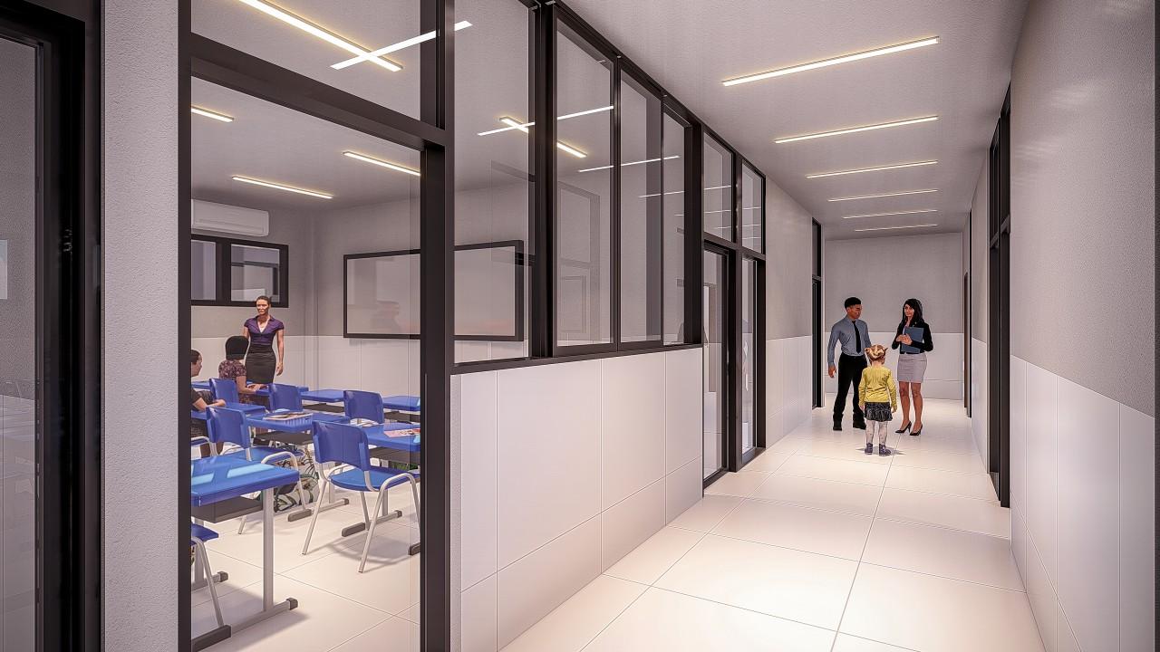 10 corredor salas - ISO Colégio e Cursos traz metodologia de ensino da Finlândia a partir de 2020