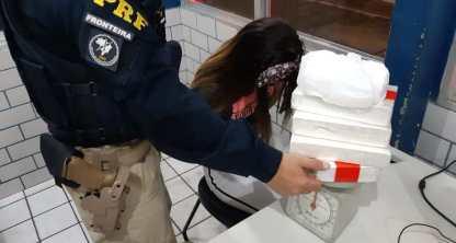 1AF27D75 EA1E 4BAD BC99 A2192B7C026B - Professora de educação infantil é presa com 5kg de cocaína, em Mamanguape