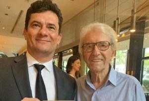 20191019 rd1 juca de oliveira e sergio moro 300x203 - Juca de Oliveira convida Sergio Moro para peça de teatro