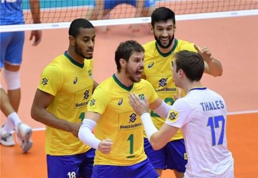 5d9dbd858deb9 300x207 - Seleção Brasileira Masculina de vôlei derrota Argentina por 3 sets a 0