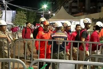 8018535 x720 - Desabamento em Fortaleza: Bombeiros encontram 9ª vitima do edifício Andrea