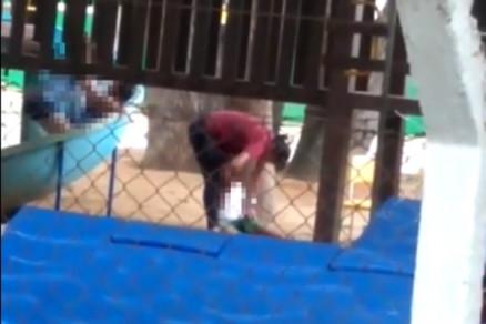 9f0751db4d0d097f79f4e25fdd1c7598 1 - Filmada batendo em aluno de seis anos, professora é exonerada - VEJA VÍDEO