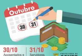Prefeitura de Conde paga servidores e servidoras municipais nos dias 30 e 31