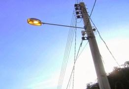Iluminação pública de São José de Piranhas, Triunfo, São Bento e Sobrado está sendo renovada pela Energisa
