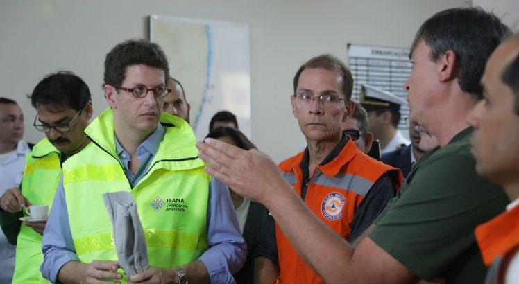 Ricardo Salles e José Bertotti 748x410 - Ricardo Salles e o secretário José Bertotti trocam farpas durante reunião sobre vazamento de óleo no Nordeste