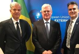 DIREITOS HUMANOS: paraibano Sérgio Queiroz representa Brasil em reunião bilateral com União Europeia