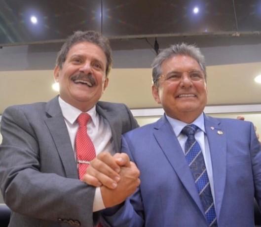 TIÃO E ADRIANO - Deputados do Avante parabenizam Adriano Galdino pelo seu aniversário e título de cidadão pessoense que receberá nesta segunda