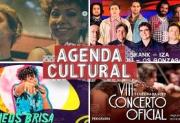 AGENDA CULTURAL: Fique por dentro do que movimenta João Pessoa neste fim de semana