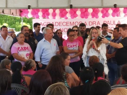 WhatsApp Image 2019 10 14 at 10.54.08 300x225 - Drª Paula participa do lançamento da campanha 'Outubro Rosa' em Cajazeiras