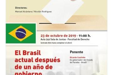 WhatsApp Image 2019 10 21 at 15.51.06 - 'UM ANO DO GOVERNO BOLSONARO': na Europa, Ricardo Coutinho fará palestra sobre democracia no Brasil