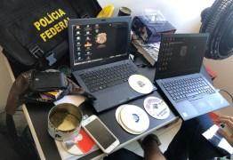 OPERAÇÃO SALVAGUARDA IV: PF efetua prisão em flagrante de investigados e apreende material pornográfico infantil