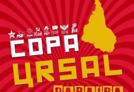 'COPA URSAL': partidos de esquerda participam de torneio de futebol neste sábado, em JP