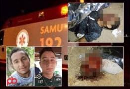 FATALIDADE: Dois jovens morrem, uma mulher e uma criança ficam feridas após colisão entre motos