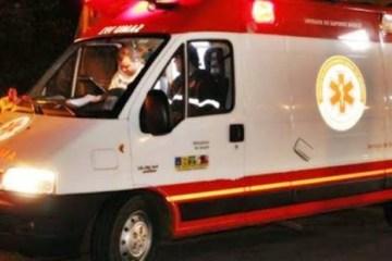 ambulância - Idoso é esfaqueado durante assalto, em João Pessoa
