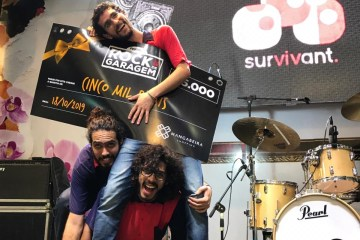 banda survivant - Banda Survivant é a grande vencedora do Festival Rock de Garagem do Mangabeira Shopping