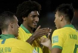 Brasil vence Nova Zelândia e se classifica para oitavas do Sub-17